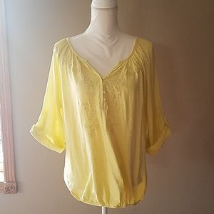 Sonoma yellow shirt